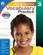 Academic Vocabulary Practice, Grade 3 (eBook)