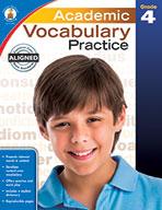 Academic Vocabulary Practice, Grade 4 (eBook)