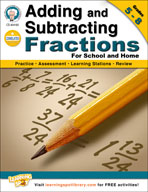 Adding and Subtracting Fractions by Mark Twain Media