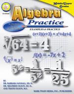 Algebra Practice Book by Mark Twain Media