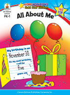 All About Me, Grades Pk - 1 (ebook)