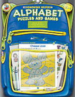 Alphabet Puzzles And Games, Grades K - 1