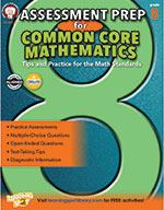Assessment Prep For Common Core Mathematics, Grade 8 (ebook)