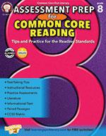 Assessment Prep For Common Core Reading, Grade 8 (ebook)