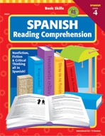 Basic Skills Spanish Reading Comprehension, Level 4