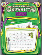 Beginning Manuscript Handwriting, Grade K
