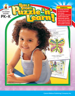 Bible Story Puzzle 'n Learn!, Grades PK-K