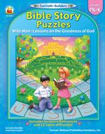 Bible Story Puzzles, Grades PK-K