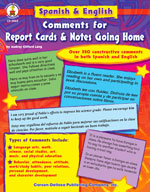 Bilingual Report Card Comments