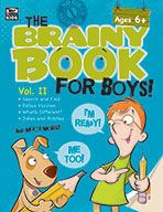 Brainy Book For Boys, Volume 2, Ages 6+ (eBook)