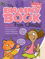 Brainy Book For Girls, Volume 2, Ages 6+ (eBook)