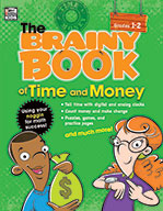 Brainy Book Of Time And Money, Grades 1-2
