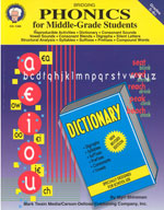 Bridging Phonics for Middle-Grade Students by Mark Twain Media