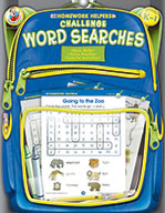 Challenge Word Searches, Grades K - 1