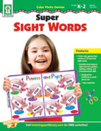 Color Photo Games: Super Sight Words