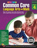 Common Core Language Arts And Math, Grade 4 (ebook)