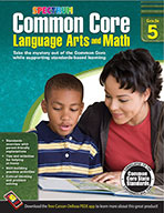 Common Core Language Arts And Math, Grade 5 (ebook)