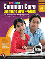 Common Core Language Arts And Math, Grade 6 (ebook)