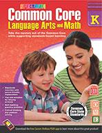 Common Core Language Arts And Math, Grade K (ebook)