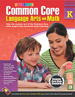 Common Core Language Arts And Math, Grade K (ebook)
