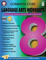 Common Core Language Arts Workouts, Grade 8 (ebook)