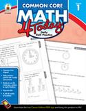 Common Core Math 4 Today, Grade 1