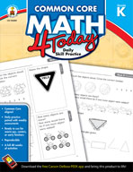 Common Core Math 4 Today Kindergarten