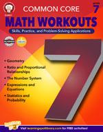 Common Core: Math Workouts (Gr. 7)