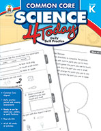 Common Core Science 4 Today, Grade K (eBook)