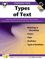 Common Core: Types of Text