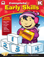 Complete Early Skills: Canadian Edition, Kindergarten