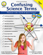 Confusing Science Terms by Mark Twain Media
