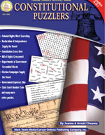 Constitutional Puzzlers by Mark Twain Media