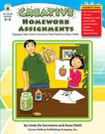 Creative Homework Assignments, Grades 2-3