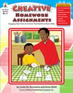 Creative Homework Assignments, Grades K-1