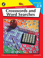Crosswords And Wordsearches, Grades 2 - 4 (ebook)