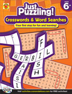 Crosswords and Word Searches, Grades 1-3