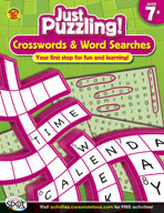 Crosswords and Word Searches, Grades 2-4