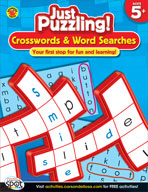 Crosswords and Word Searches, Grades K-1