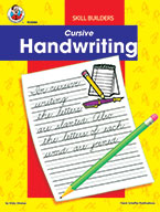 Cursive, Grades 2 - 4 (ebook)
