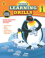 Daily Learning Drills, Grade 1 (ebook)