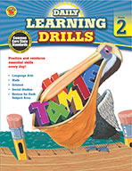 Daily Learning Drills, Grade 2 (ebook)