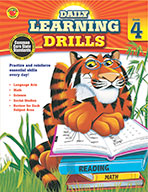 Daily Learning Drills, Grade 4 (ebook)