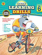 Daily Learning Drills, Grade 6 (ebook)