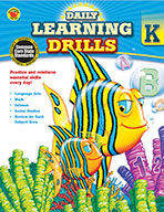 Daily Learning Drills, Grade K (ebook)