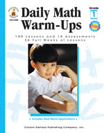 Daily Math Warm-Ups, Grade 1