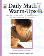 Daily Math Warm-Ups, Grade 4