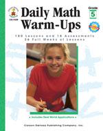 Daily Math Warm-Ups, Grade 5