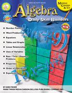 Daily Skill Builders: Algebra by Mark Twain Media