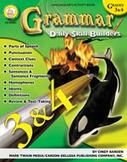 Daily Skill Builders: Grammar: Grades 3-4 by Mark Twain Media